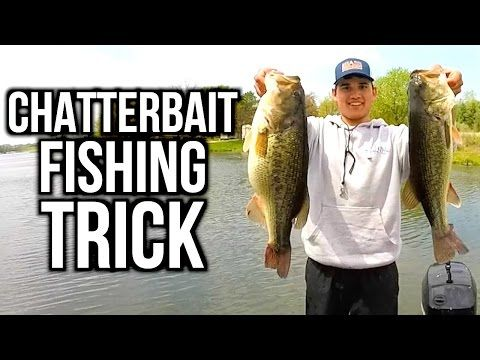 TRICK to Catch MORE Bass on Chatterbaits - Bass Fishing Tips - (More info on: http://1-W-W.COM/fishing/trick-to-catch-more-bass-on-chatterbaits-bass-fishing-tips/)