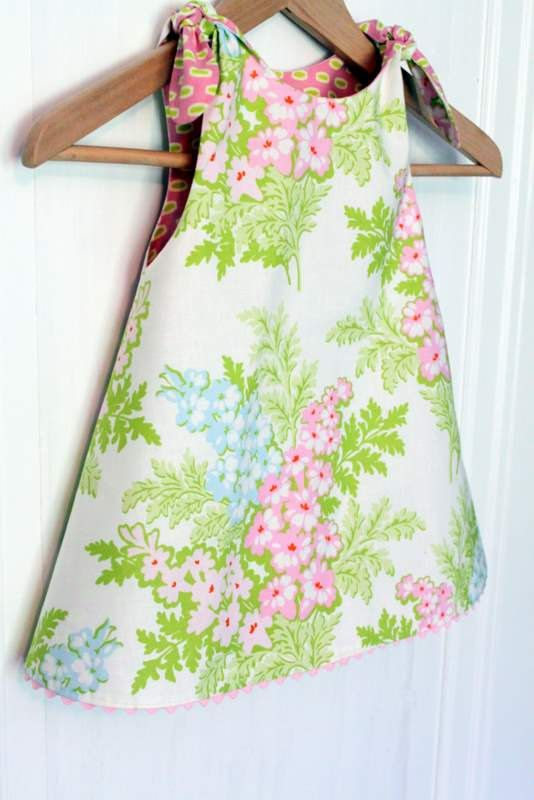 PRINTED Dress Pattern: Shortcake Reversible by TheCottageMama