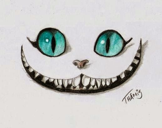 Ms de 25 ideas increbles sobre Gato de Cheshire en Pinterest