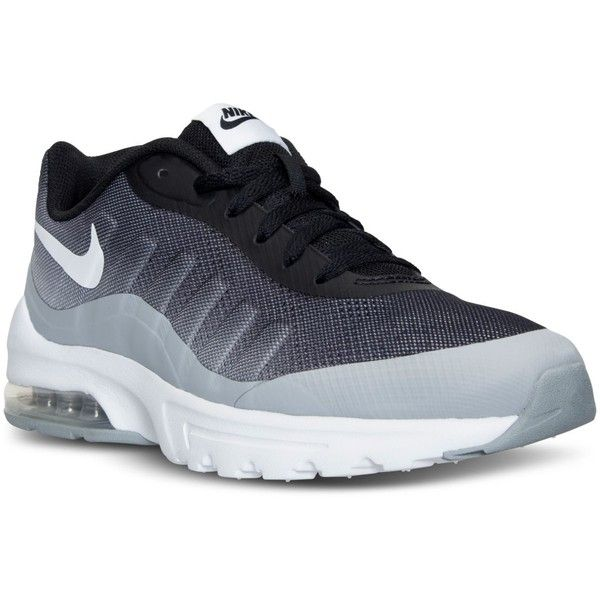 Nike Men's Air Max Invigor Print Running Sneakers from Finish Line ($90) ❤  liked