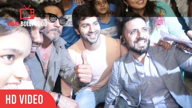 #JackieShroff Bhidu And #VarunDhawan At India Alive Short Film Festival
