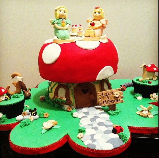 Fairy Picnic Cake - By Nat and Jess
