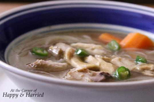 Chinese Rice Noodle Soup Recipe