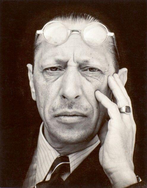 Edward Weston, Igor Stravinsky, 1935