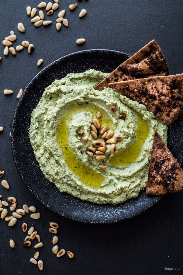 Super Green Goddess Hummus | Community Post: 21 Insanely Easy Appetizers Guaranteed To Please Your Party Guests