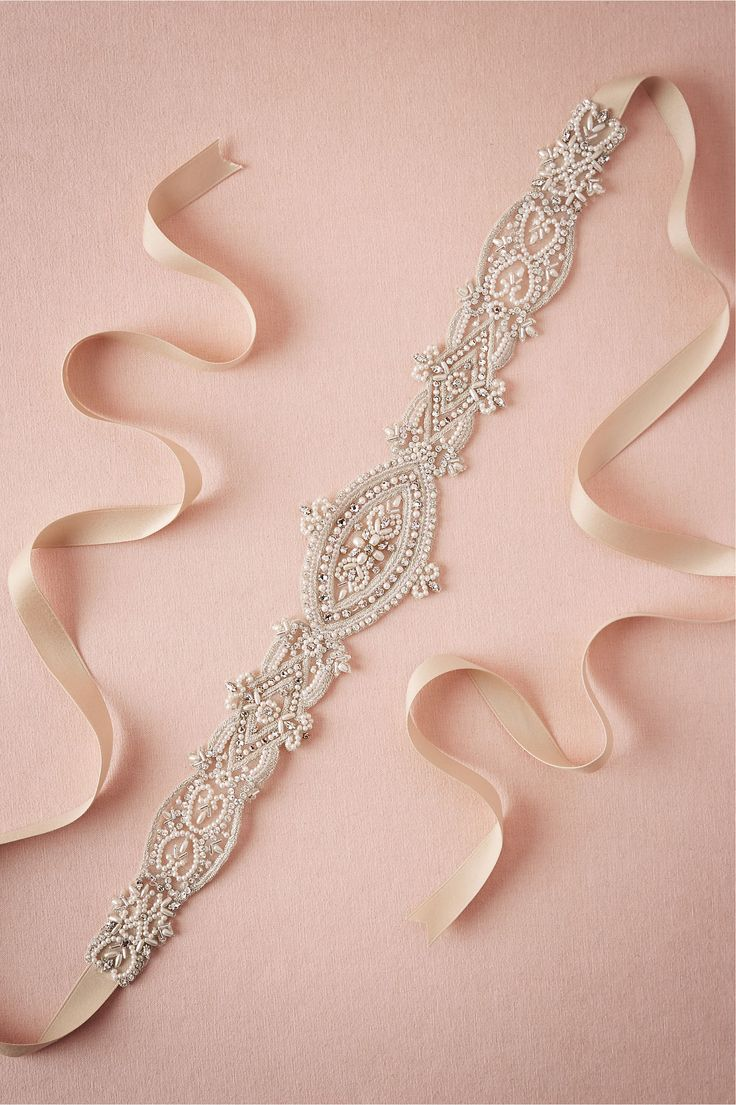 Albertina Sash we made exclusively for @BHLDN <3