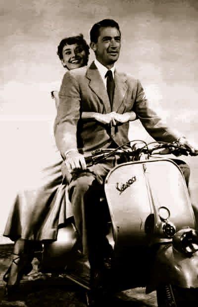 #Vespa #Audrey #Hepburn #AudreyHepburn #Roman #Holiday #RomanHoliday