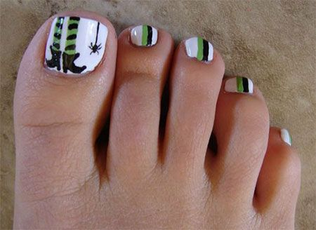 Best 25+ Halloween Toe Nails Ideas On Pinterest   Halloween Toes, Toe Nail  Designs For Fall And Disney Toe Nails