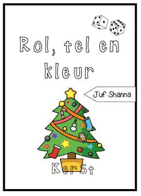 Thema kerst: rol, tel en kleur!