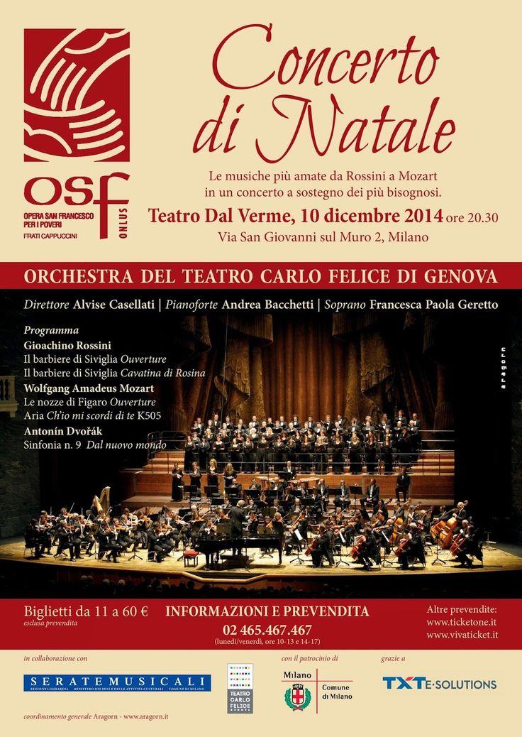 Ritrovarsi:        CONCERTO DI NATALE a favore di OPERA SAN FR...