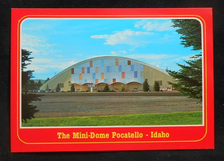 Idaho State University Mini Dome | Details about 1980s? The Famous Mini-Dome Idaho State University ...