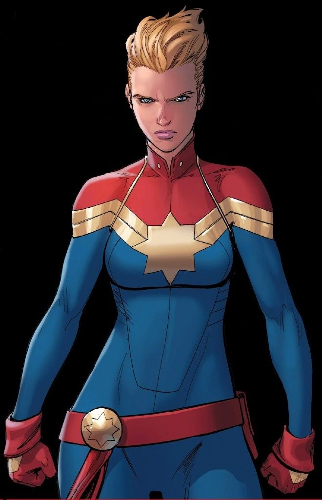 After encountering the Kree hero Captain Marvel, Carol Danvers was accidentally subjected to otherworldly radiation that transformed her into a superhuman warrior. Calling herself Ms. Marvel, she established herself as one of the most powerful and prominent heroes, both as a solo heroine and as a member of the Avengers. She has now adopted the mantle of Captain Marvel for herself.