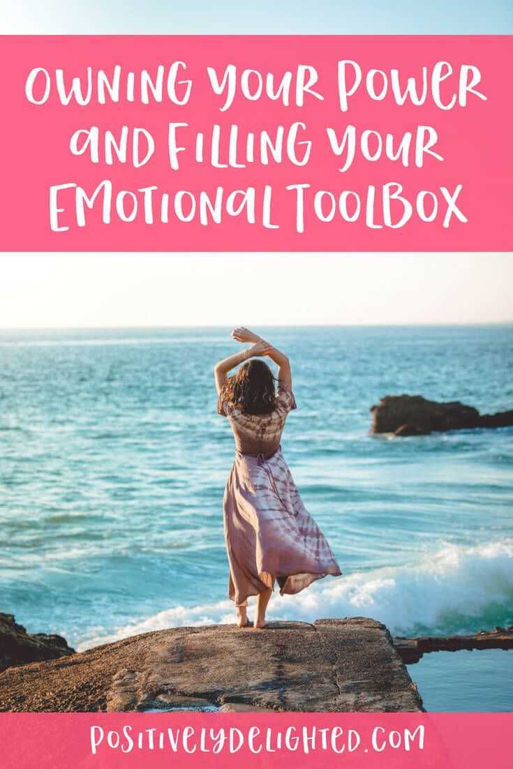 Learn how to own your power and fill your emotional toolbox in this podcast epis…