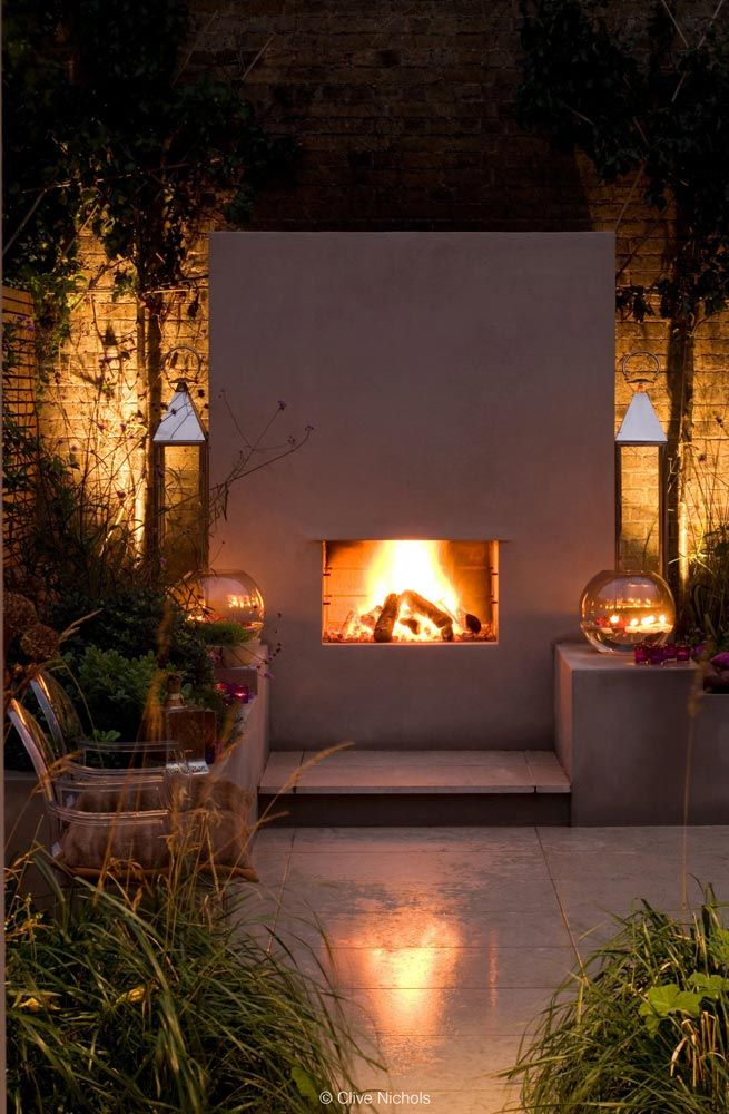 40 best Garden fireplaces and fire pits images on Pinterest | Fire ...
