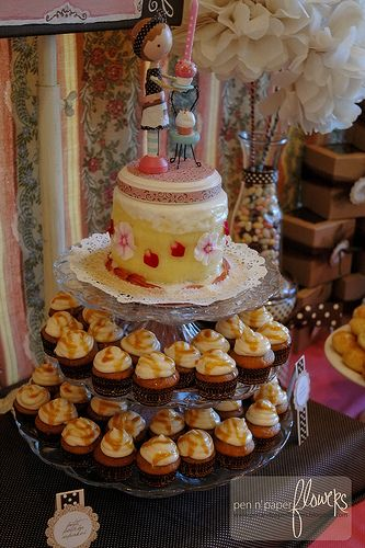 Mini french bakery party cakes cakes and more cakes pinterest