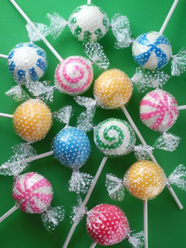 Cute Candy Cake Pops