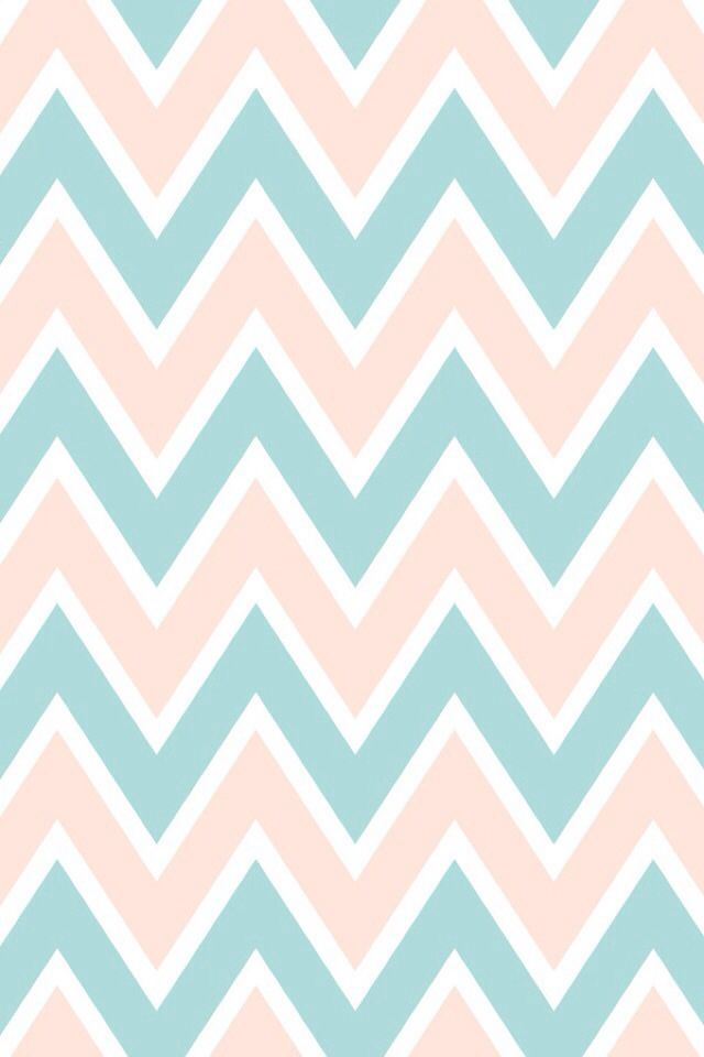 Light pink n teal chevron wallpapers pinterest for Teal chevron wallpaper
