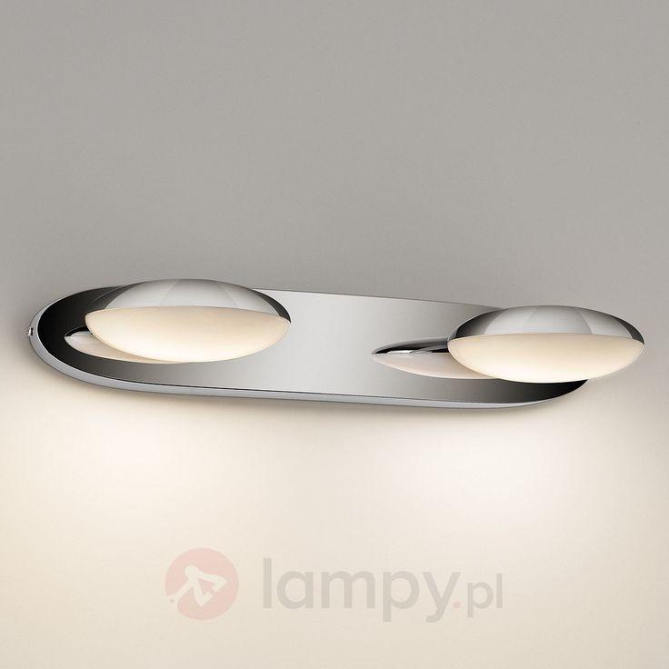 Lampa ścienna LED HOTSTONE, 2-pkt., IP44 7531476