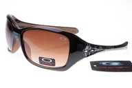 Oakley Womens Sunglasses Black Deep Brown Frame Brown Lens $25 awesome
