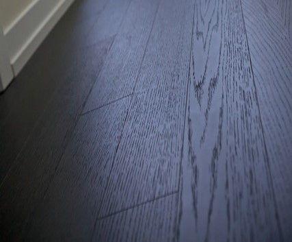 We chose Torlys Everest Premier Cityscape White Oak flooring for the S1 model. As good if not better than wood.  #Uptownes  Design: Jo-Ann Capelaci  Builder: Geranium Homes