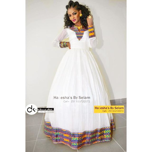 168 best new ethiopian dresses images on pinterest for Ethiopian traditional wedding dress designer