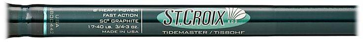 St. Croix® Tidemaster® Inshore Spinning Rods |