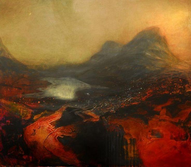 Beth Robertson Fiddes - Inverpolly Moon