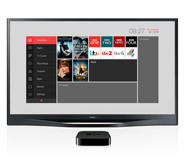 Middleware IPTV User Interface.UX+UI for Dutch based IPTV Middleware provider.