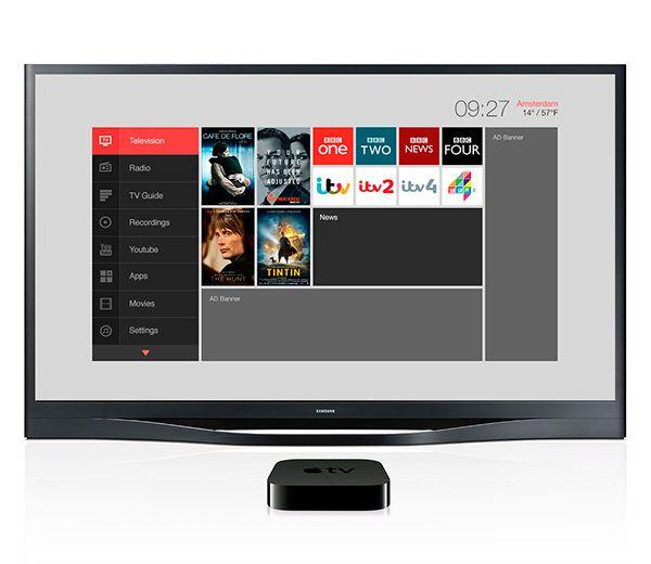 Middleware IPTV User Interface.UX+UI for Dutch based IPTV Middleware provider.