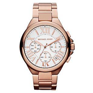 Michael Kors Reloj Mujer Oro Rosa