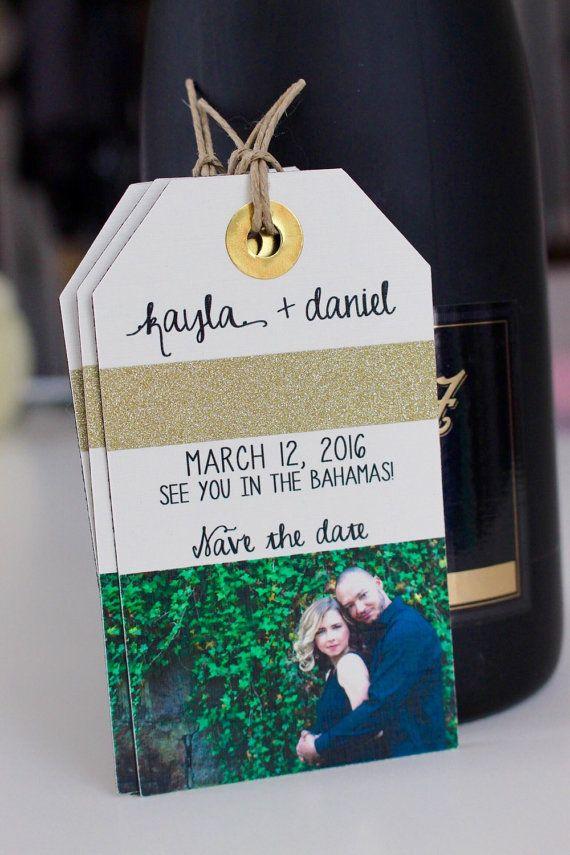 Wedding save the date destination wedding luggage tag https://www.etsy.com/listing/232343253/wedding-invitation-save-the-date-luggage