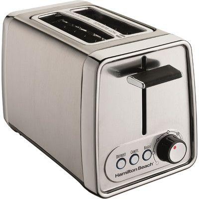 Hamilton Beach 2 Slice Modern Toaster