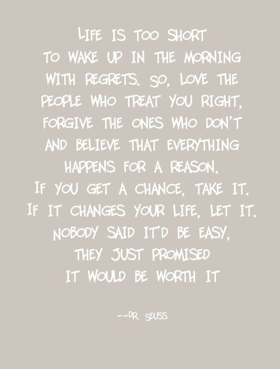 8 By 10 Digital Print With A Great Quote By Dr Seuss It Is Printed