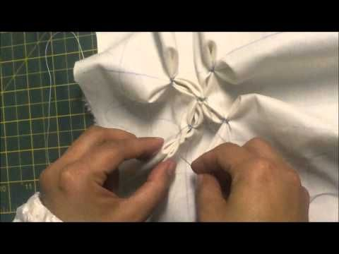 How To Do Canadian Smocking (same pattern 4 techniques) Part 4 of 4 By Rose