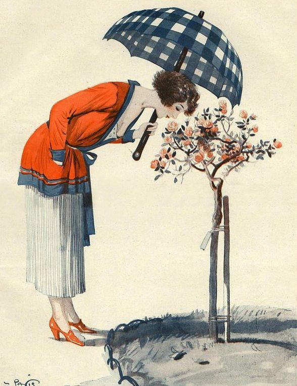 Illustration by George Pavis For La Vie Parisienne 1922