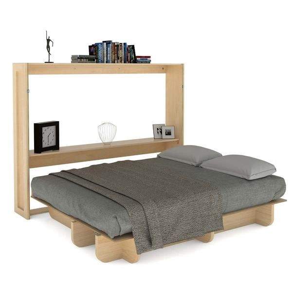 The Queen Size Lori Wall Bed Hardware Kit and Plans includes the DIY Murphy bed plans and assorted hardware you need to build your own Lori Wall Bed.
