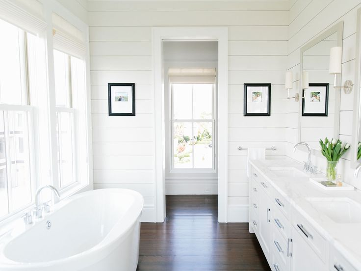 17 best images about brilliant bathrooms on pinterest for Bathroom ideas with shiplap