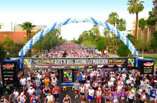 P. F. Changs 1/2 marathon (13.1 miles) Phoenix Arizona <3