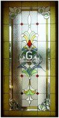 Gambar ornamen kaca patri, klasik, Katalog pengrajin kaca patri untuk jendela kaca patri, pintu kaca patri kaca patri jogjakarta, indonesia 9