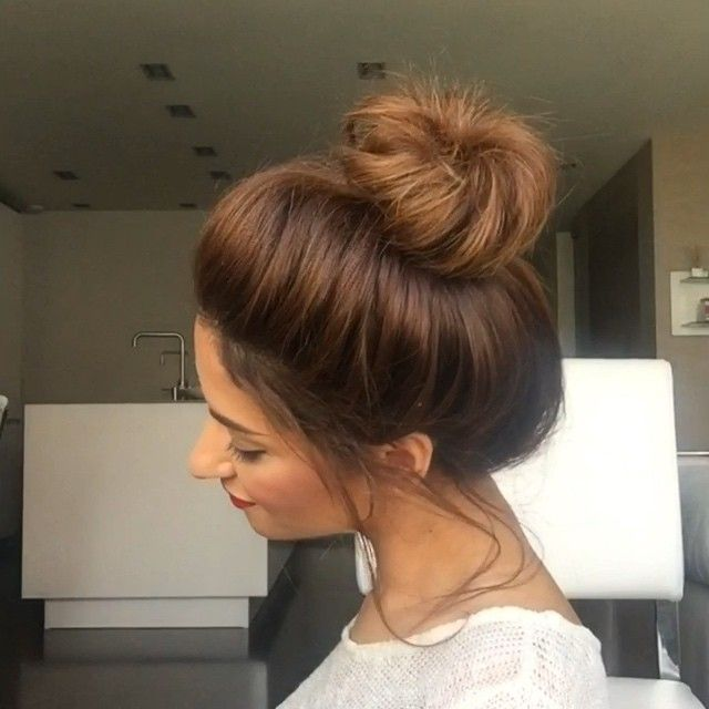 hair buns styles long hair mua dasena1876 amp qu instagram photo 7588 | e702a04610cf6cabc600bf33d7ddf313 messy hair messy bun