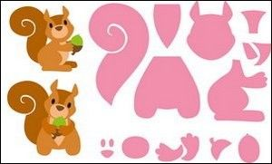 MD: Collectable 1410; Eline`s Squirrel