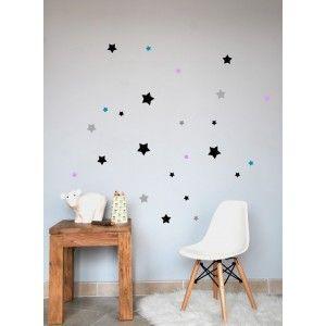 stickers étoiles pour chambre Iris