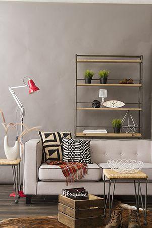 RL Tips A Modern Rustic Living Room