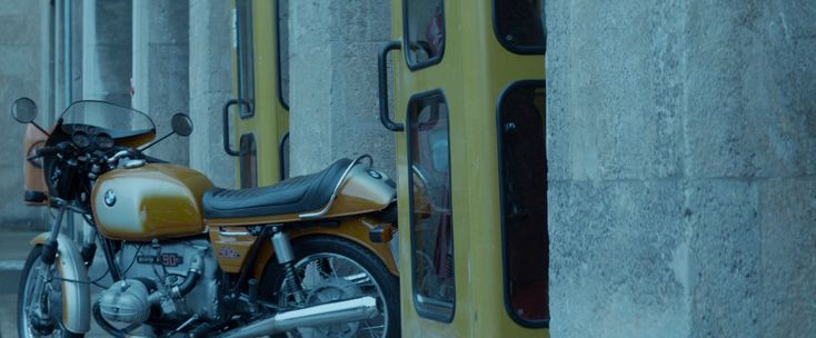 BMW motorcycle in ATOMIC BLONDE (2017)