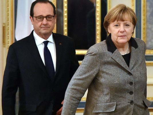 Angela Merkel and Francois Hollande arrive in Moscow for peace talks with Vladimir Putin  Read more: http://www.bellenews.com/2015/02/06/world/europe-news/angela-merkel-francois-hollande-arrive-moscow-peace-talks-vladimir-putin/#ixzz3QzRYYqvn Follow us: @bellenews on Twitter | bellenewscom on Facebook
