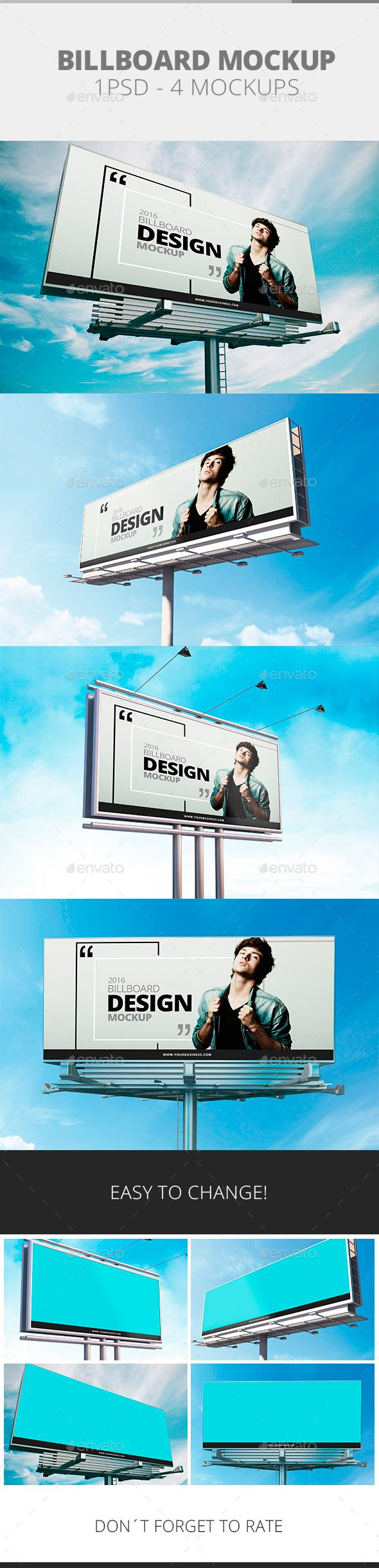 Billboard Mockup. Download here: http://graphicriver.net/item/billboard-mockup/15019468?ref=ksioks