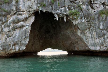 Hollow drive thru caves - Hạ long bay
