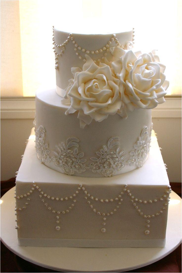 Best 25 Square Wedding Cakes Ideas On Pinterest Blue