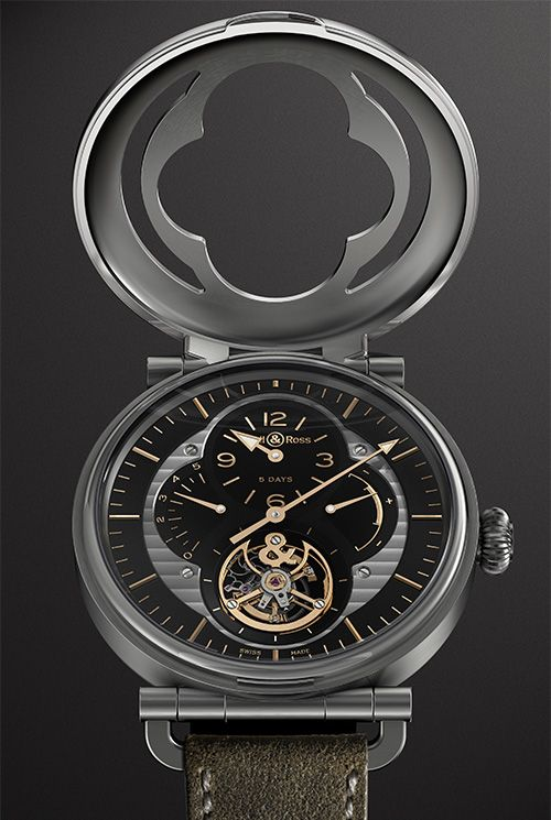 LIMITED EDITION OF 20 PIECES A FINE PIECE OF WATCHMAKING THAT REVISITS HISTORY Bell & Ross WW2 Military Tourbillon (See more at:http://watchmobile7.com/articles/bell-ross-ww2-military-tourbillon) (2/4) #watches #bellandross @Christabelle Clip Clip Clip Lavarro C & Ross