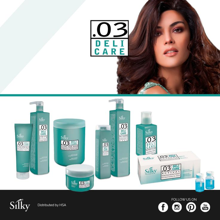 Do not renounce to take care of your hair, daily: try .03 Deli Care range! / Non rinunciate a prendervi cura dei vostri capelli tutti i giorni: provate la linea .03 Deli Care #hair #hairstyle #haircolour #haircolor #fashion #style #longhair #curly #straight #black #brown #red #blonde #hairfashion #coolhair #bauty #nouvellecolor #hsacosmetics #silkycolor